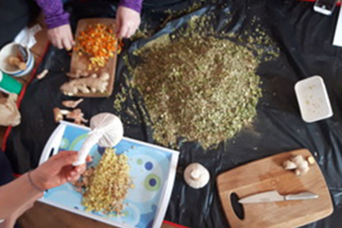 Herbal Compress Workshop